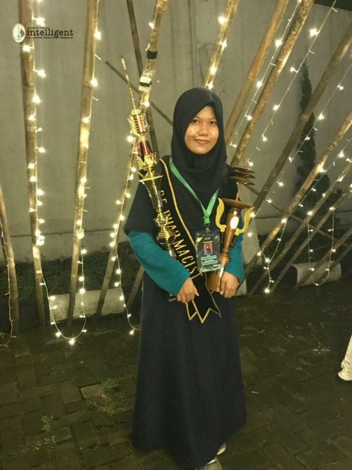 Mahasiswi Poltekkes Kemenkes Makassar Menyandang Juara Pertama di NHVSC 2019